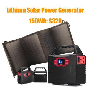 Backup Emergency im Freien Reserveneues der beweglicher Generator-Sonnenenergie-100watt