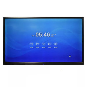 scheda bianca di riunione astuta del video dello schermo di tocco di 75inch IR