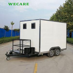 電気移動式正方形のケイタリングの食糧トレーラー