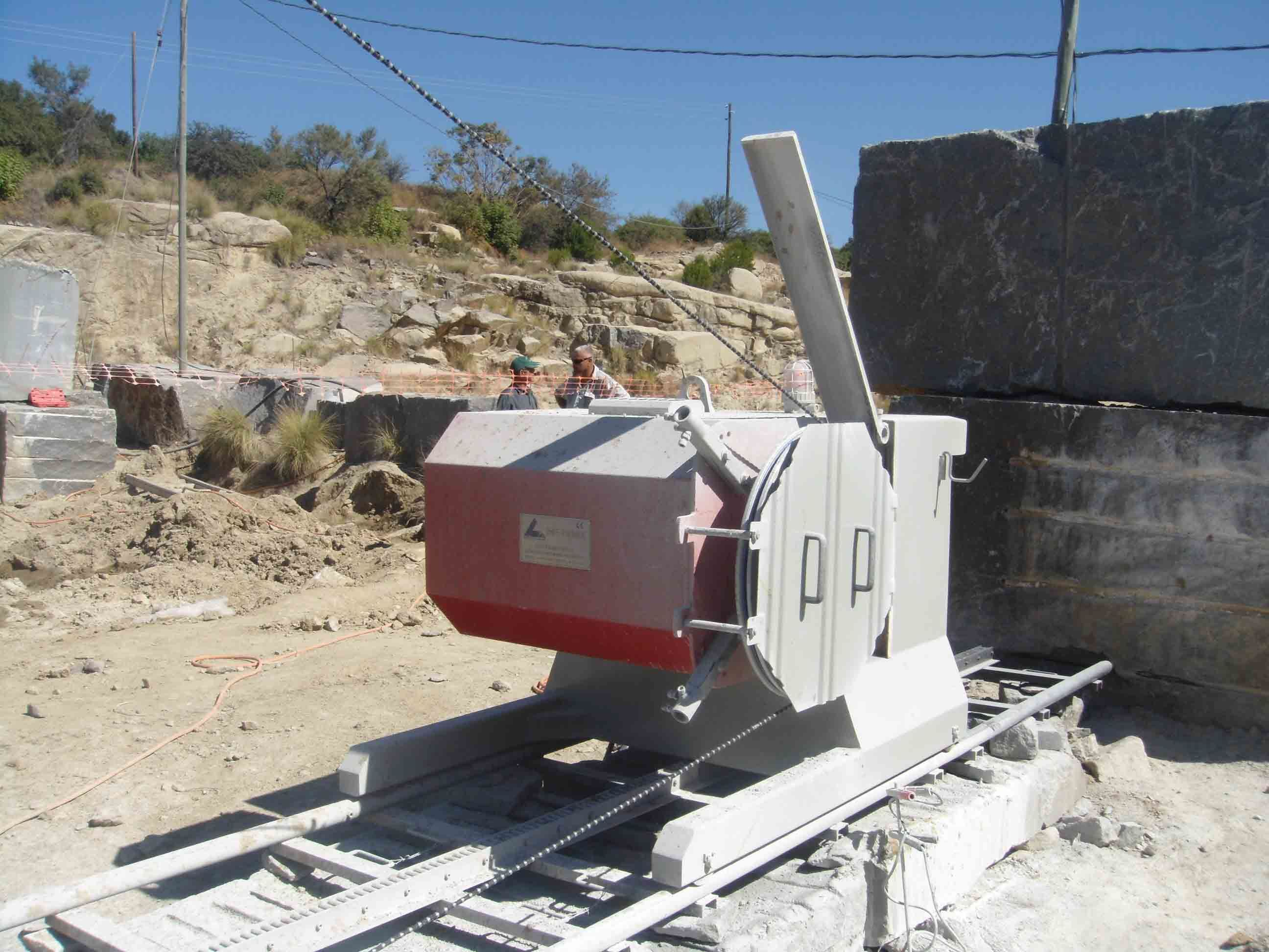75kws/100HP Electrical Drive Wire Saw Machine for Mining or Quarry ...