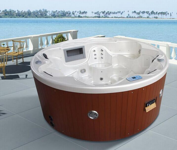 5 6 pessoa rodada home jardim piscina jacuzzi terapia 5 6 pessoa rodada home jardim piscina. Black Bedroom Furniture Sets. Home Design Ideas