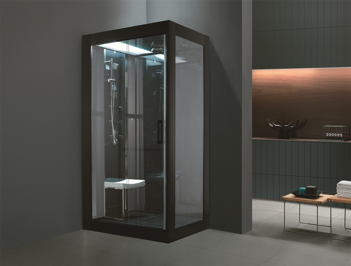 USA Acrylic High End Steam Shower Cabin (M-8282) - China Hydro ...