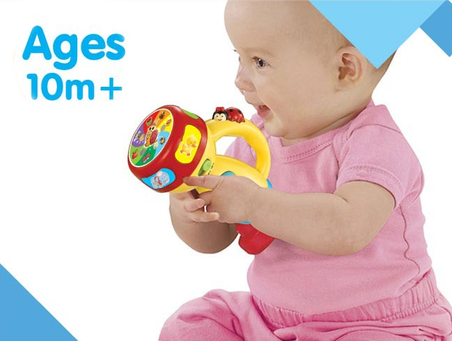 lampe de poche en plastique de jouets pour enfants intellectuelle jouet h4646100 lampe de. Black Bedroom Furniture Sets. Home Design Ideas