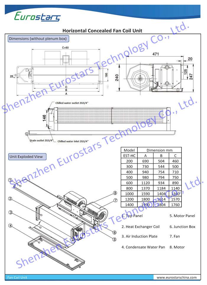 Fan Coil Unit Wiring Diagram Ceiling on
