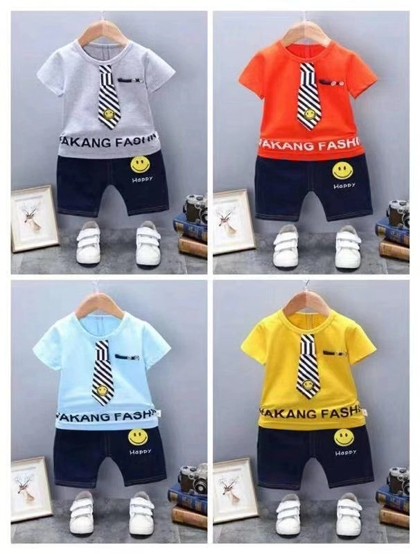 2068af10cb86 High Quality Children Leisure Printing T Shirt and Pants Boutique ...