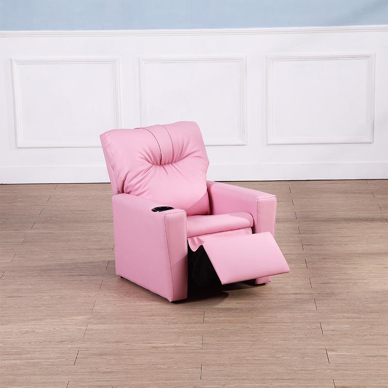 Lazy Boy sillón reclinable sillón de masaje PU Niños silla ...
