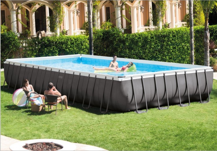 China Factory Intex Ultra Above Ground Frame Piscinas Swimming Pool Intex Swimming Pool For Sale China Piscinas Swimming Pool And Intex Metal Frame Pool Price Made In China Com