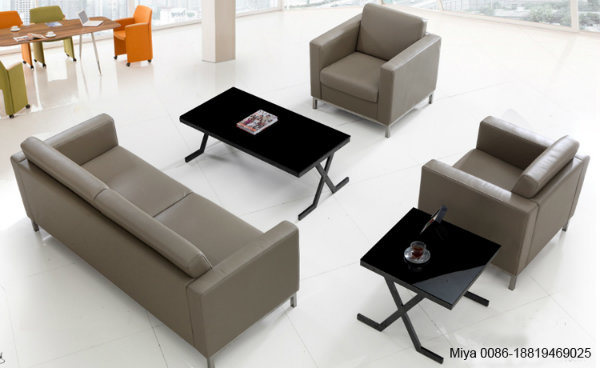 Moderno diseño de muebles baratos Muebles de oficina solo sofá de ...