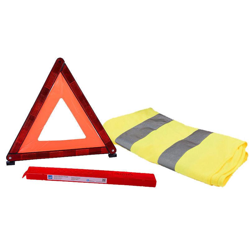 China Reflective Warning Triangle with E-MARK
