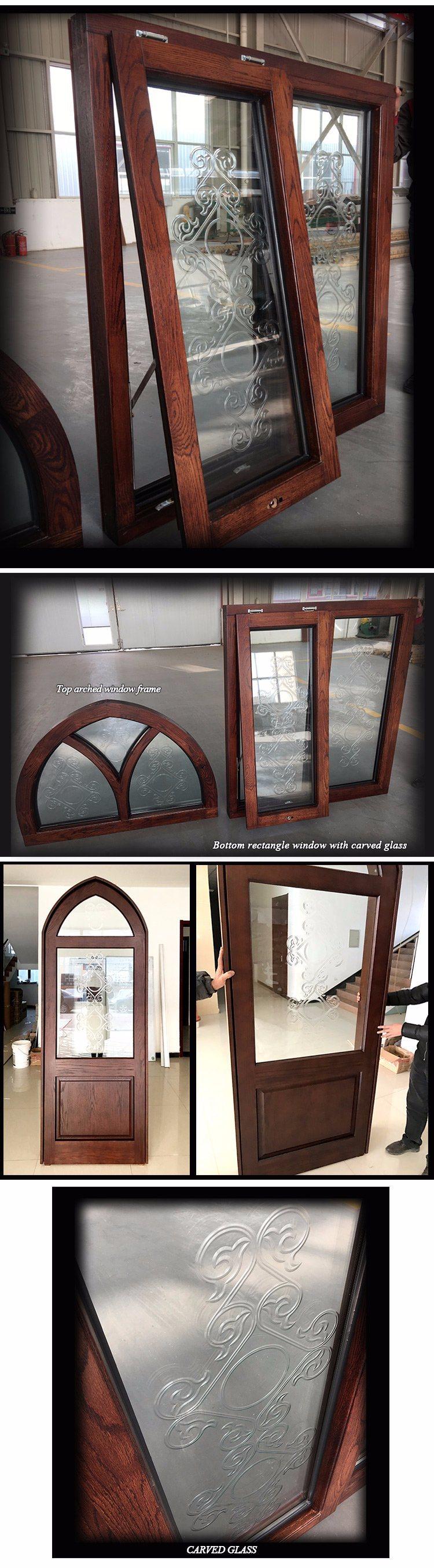 arch window frames