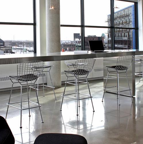복사 Knoll 현대 가구 크롬 카운터 바 의자 발판 – 복사 Knoll 현대 ...