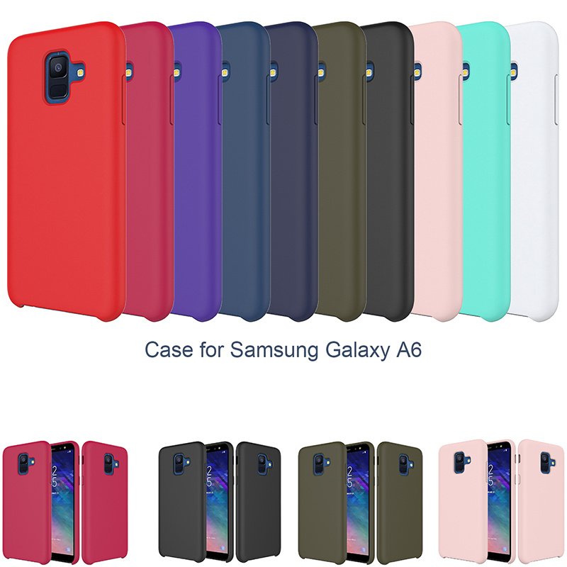 detailed pictures f0f23 44ffb [Hot Item] Amazon Hot Selling Mobile Phone Silicone Case for Samsung Galaxy  A6 2018