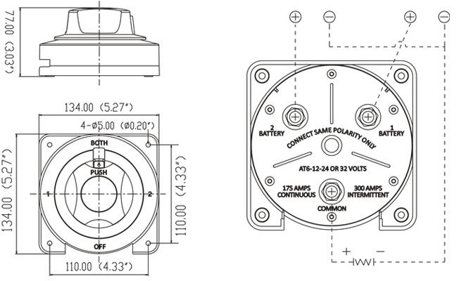 marine switch panel diagrama de cableado