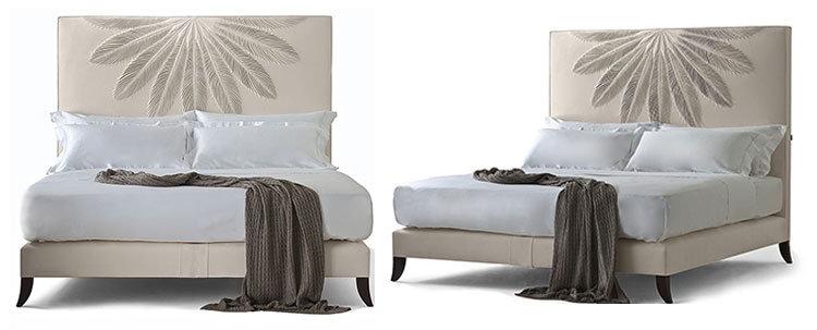 Hotel cabecero tapizado de tela completa plataforma de cama – Hotel ...