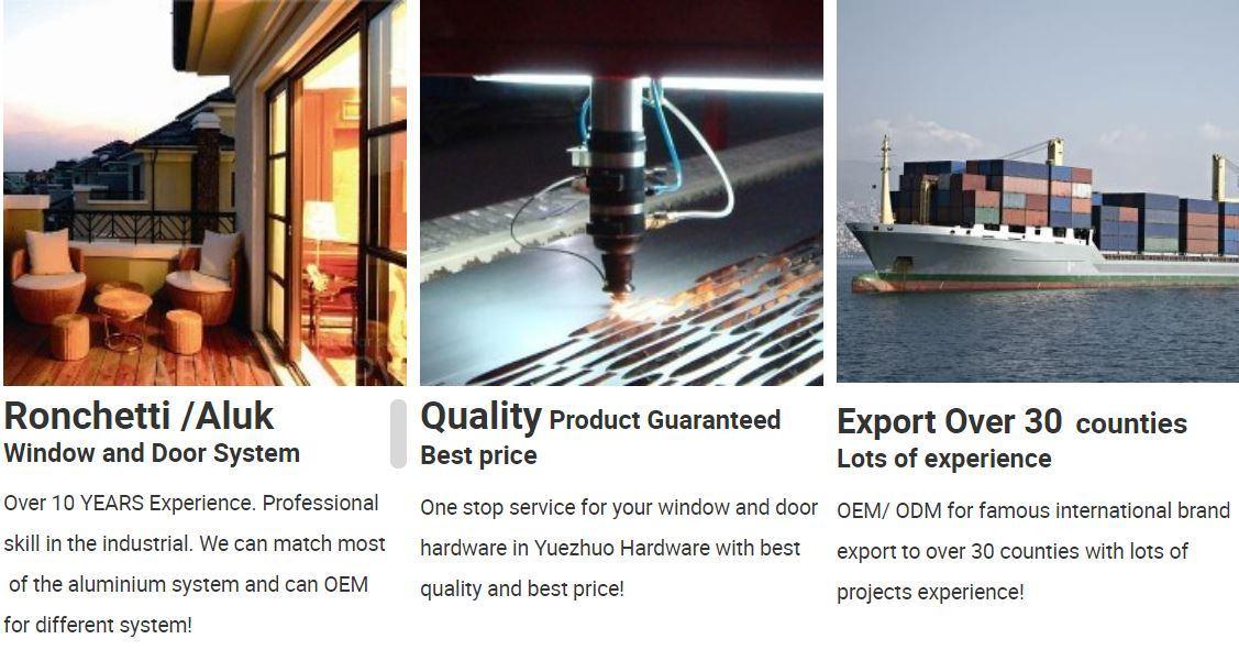 High Quality Anti-Falling Protector Aluminium Accessories Window Lock