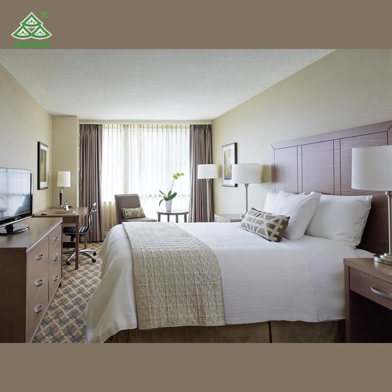 Mobilia della camera da letto dell\'albergo di lusso della mobilia ...