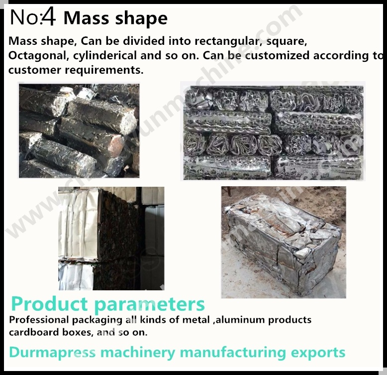 Ce ISO Certification Metal Cans Baler Machine Manual/Baler Heavy ...