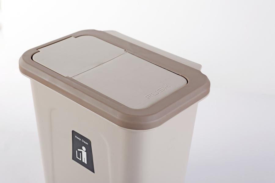 Hot Folding Waste Kitchen Cabinet, Trash Can For Kitchen Cabinet Door Wastebasket