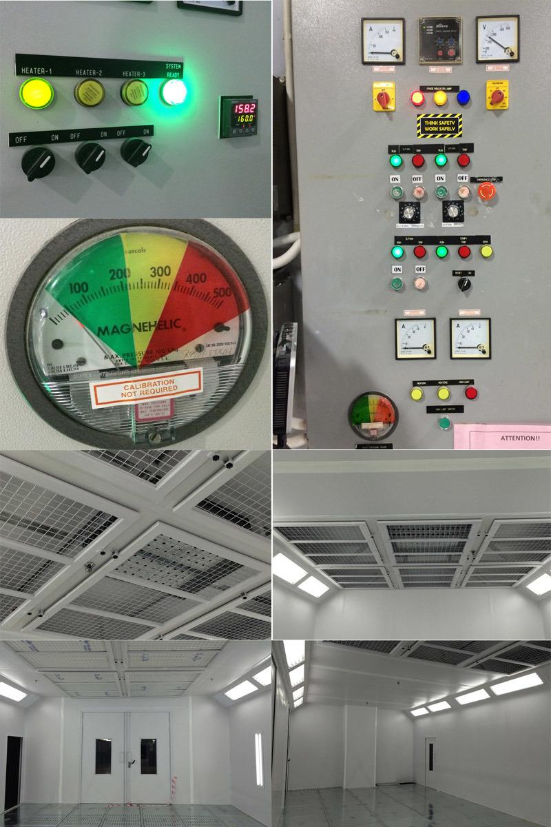Cabina di spruzzo personalizzata per le parti dei velivoli for Riparazione della cabina di log