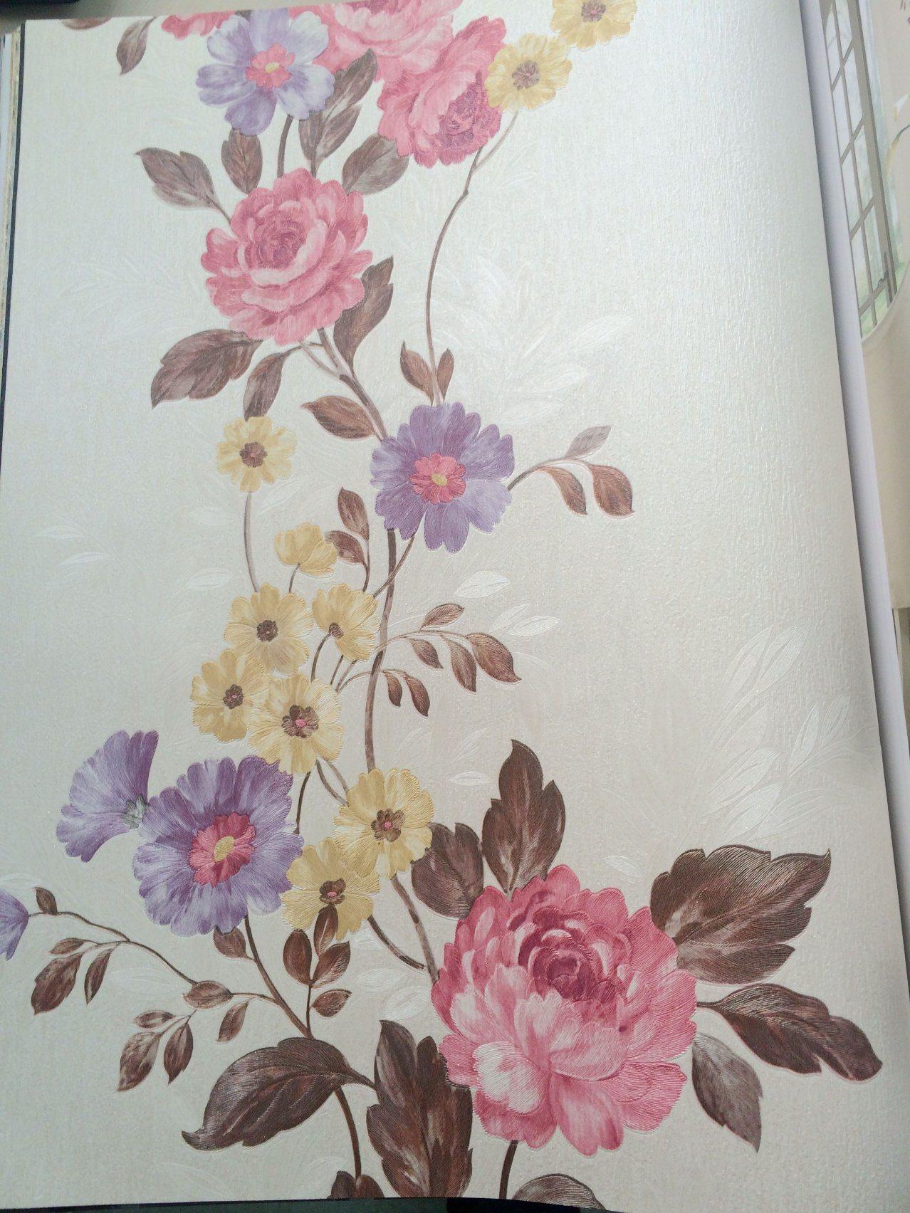 Pvc Wallpaperbig Flower Design Wallpaper3d Wall Paper For Home