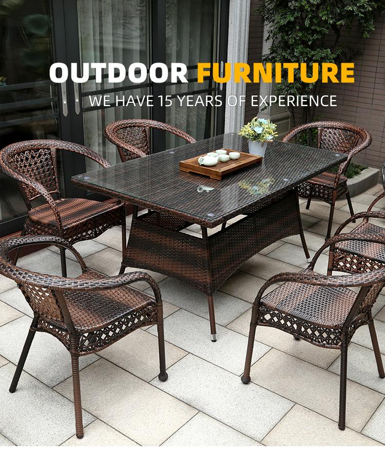 Plastic Wood Garden Sofa Sets, Outdoor Plastic Patio Furniture