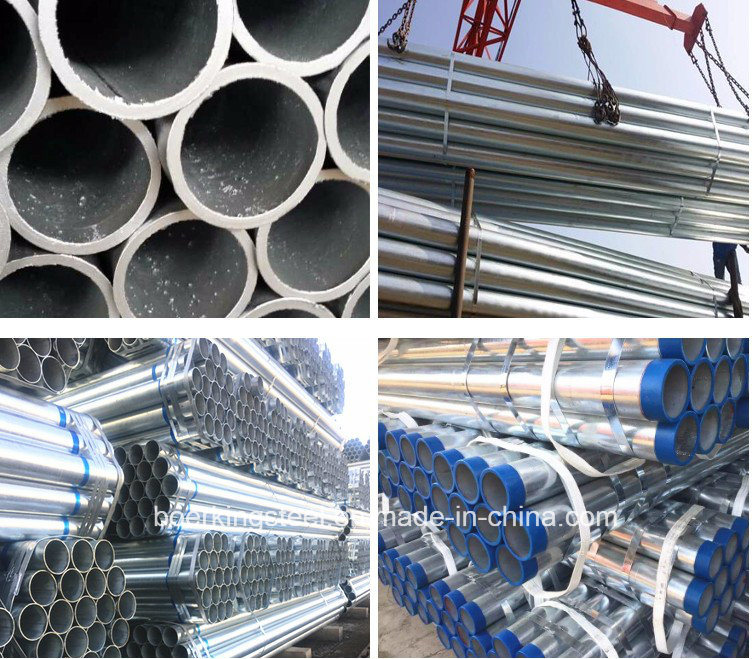 Hot Dipped Galvanized Steel Pipe (Threaded and Coupled)