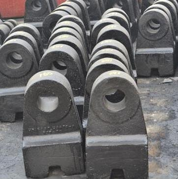 Abrasion Resistant Crusher Hammer Head for Crushing Industry