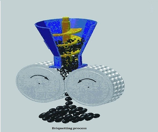 High Pressure Charcoal and Minerals Briquette Press Machine