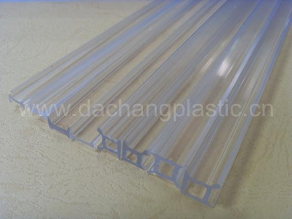 Plastic transparent profile pour partition partie plastic - Cloison plastique transparent ...