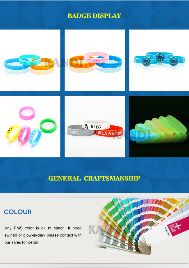 Free Sample Custom Fashion Rubber Colorful Silicon Slap Sport Smart Wristband Customized Engraved USB Imprinted Debossed Silicone Bracelet for Promotional Gift
