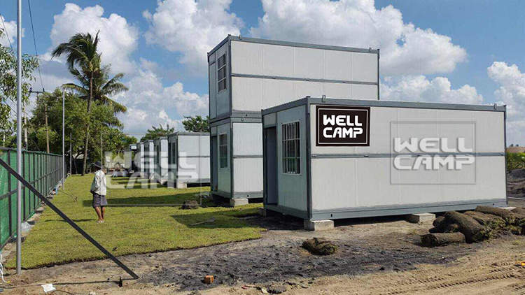 Conteneur de pliage facile conomique maison vendre for Maison container 50000