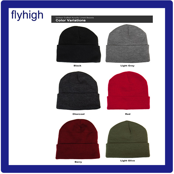 b99add52 Custom High Quality Embroidered Winter Knitted Beanie Red Hat ...