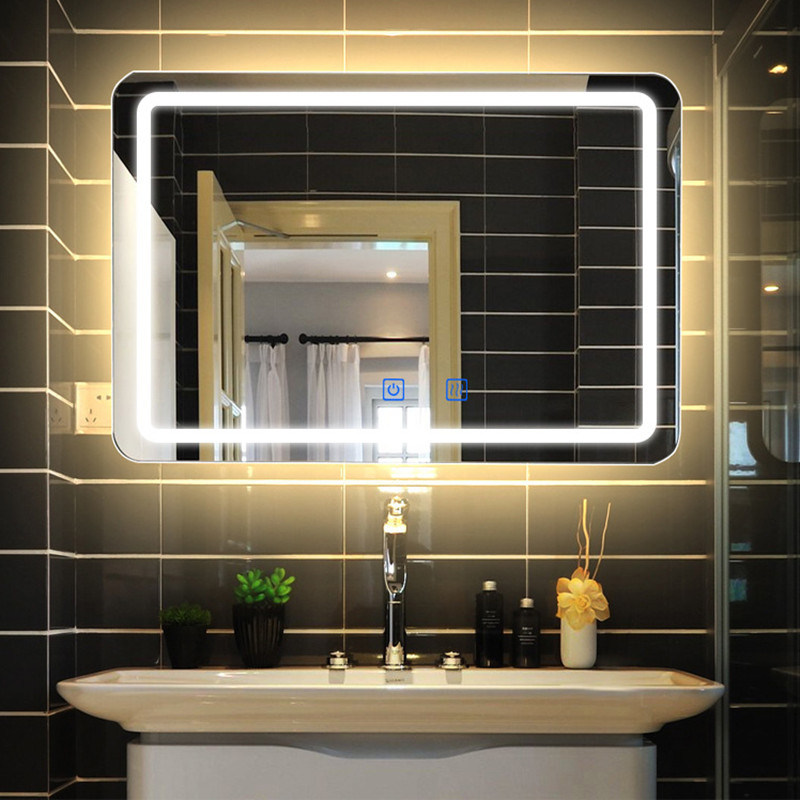 Lamp Hotel Bathroom Mirror 0671, Defog Bathroom Mirror