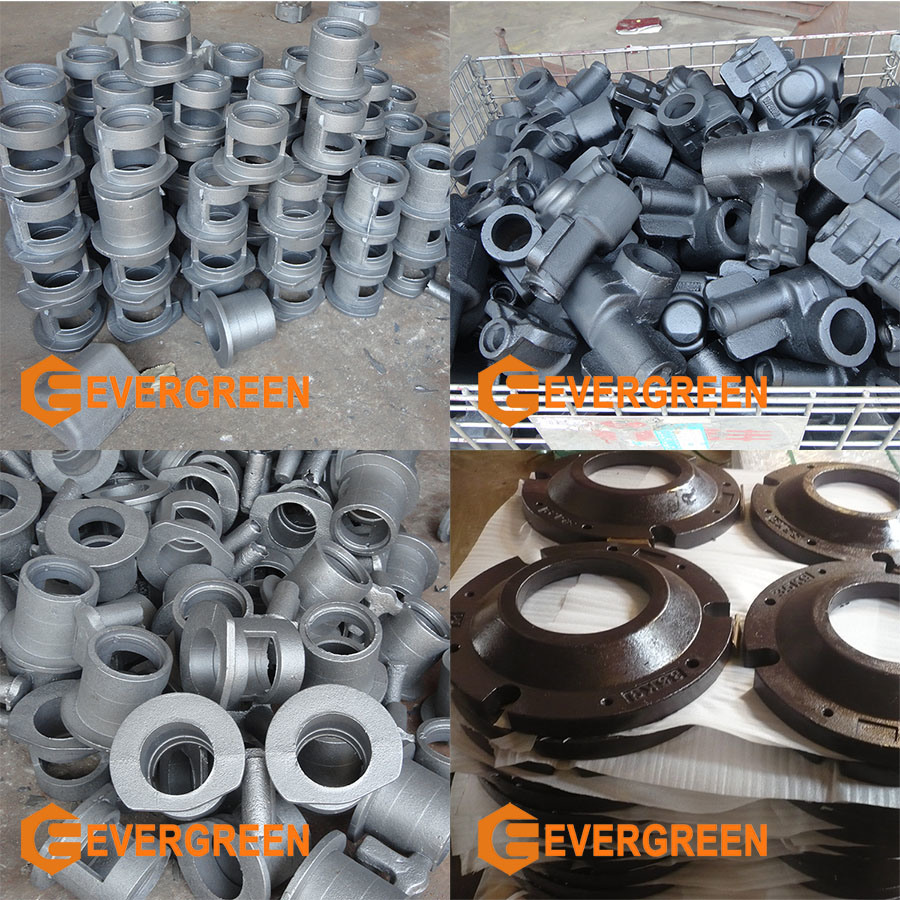 OEM Custom Iron Sand Casting Parts with Machining Process