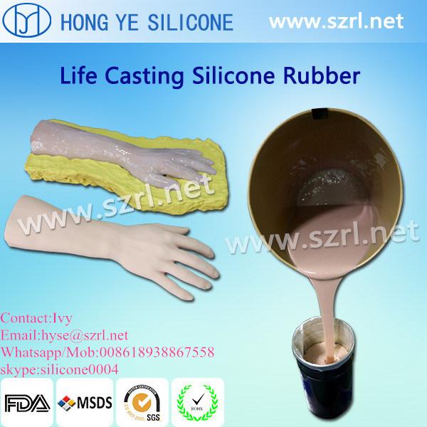 Caucho de silicona m dica para la extremidad artificial for Caucho de silicona