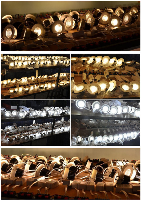 9W 12W 15W COB High Power Ceiling Lighting LED Downlight