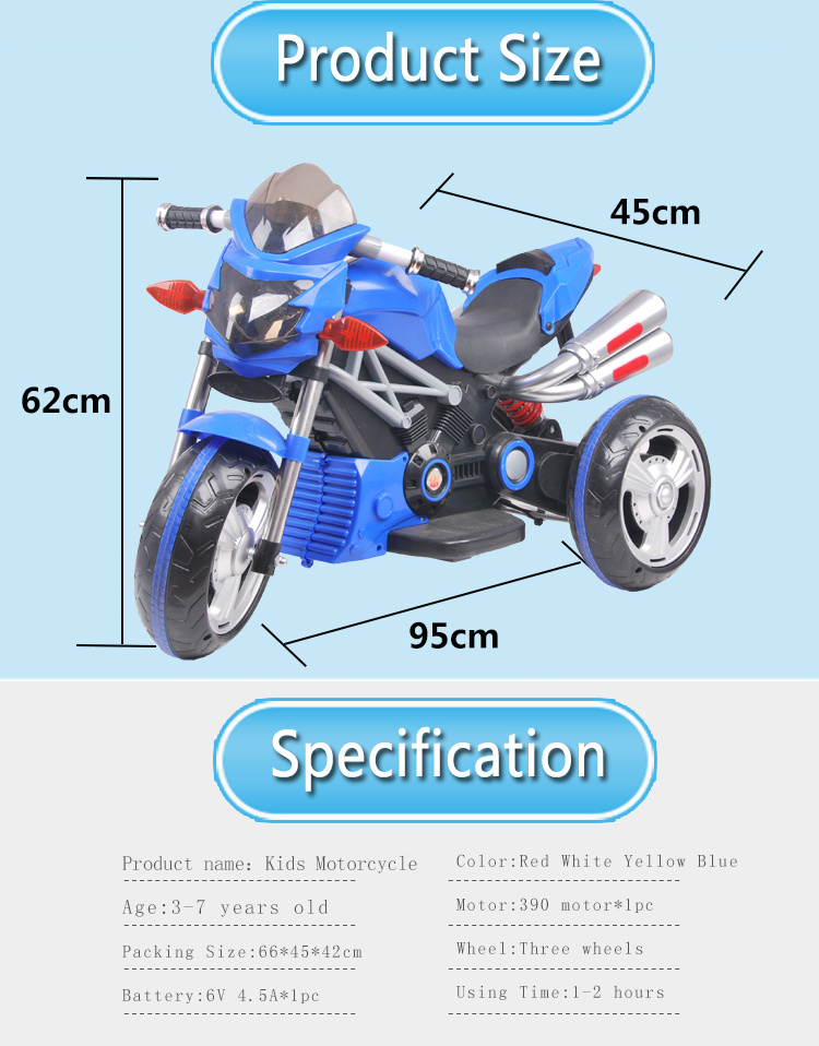 31e9c8f6c94 China Baby Kids Electric Motorcycle Wholesale Mini Children Car Bike ...
