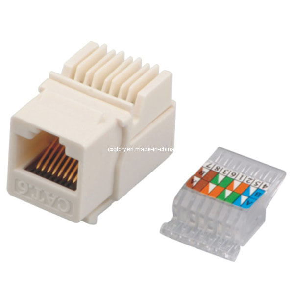 Cat 6 Toolless RJ45 UTP Keystone Jack clipsal rj45 wall socket wiring diagram wiring diagram and clipsal rj45 socket wiring diagram at nearapp.co