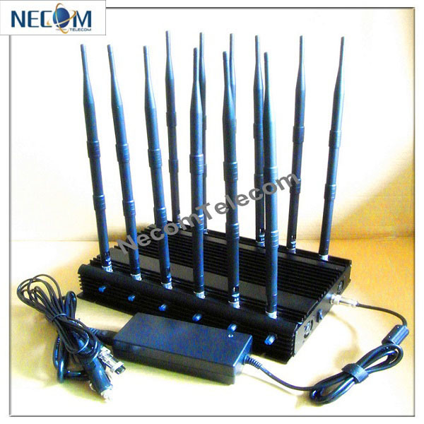 Cel phone jammers   Buy Portable GPS Jammer with Built-in fans GPSL1-L5+GSM900-1800 Jammers, price $172