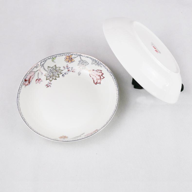 Sophisticated White Porcelain Plates Wholesale Contemporary - Best ...