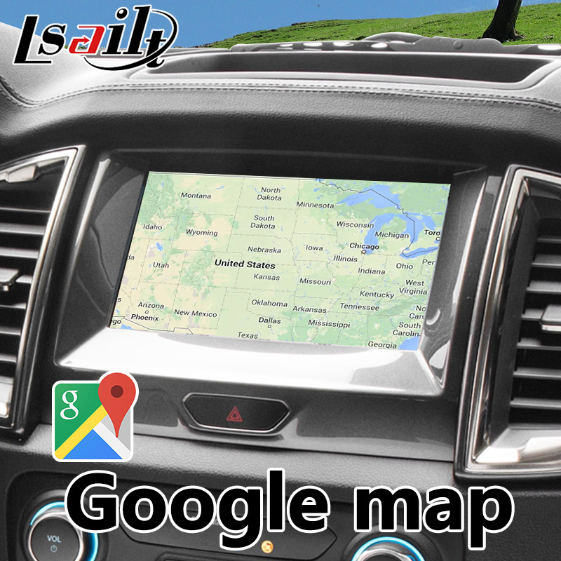 Android 6 0 Auto Interface GPS Navigation for Ford Ranger