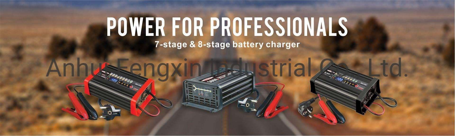 Smart Power 12V 7ah Universal Automatic Battery Charger