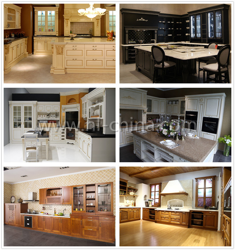 Knock Down Medium Oak Kitchen Cabinets