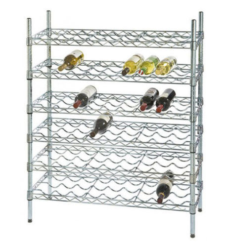 [Hot Item] Adjustable DIY 6 Tiers Metal Liquor Bottle Display Rack Shelf  Manufacturer