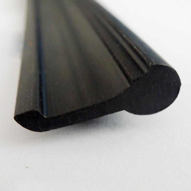 J Shape Plastic Extrusion PVC Seal Strip