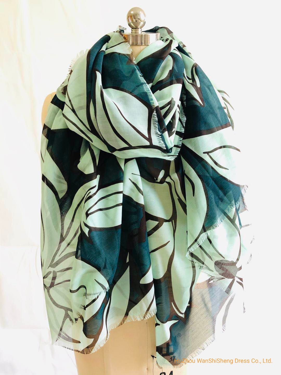 Factory Price Oem Hot Fashion Muffler Tropical Leaf Print Scarves Shawl Elegant Women Lady High Quality Long Soft Print Scarf China Polyester Scarf And Shawl Price Made In China Com