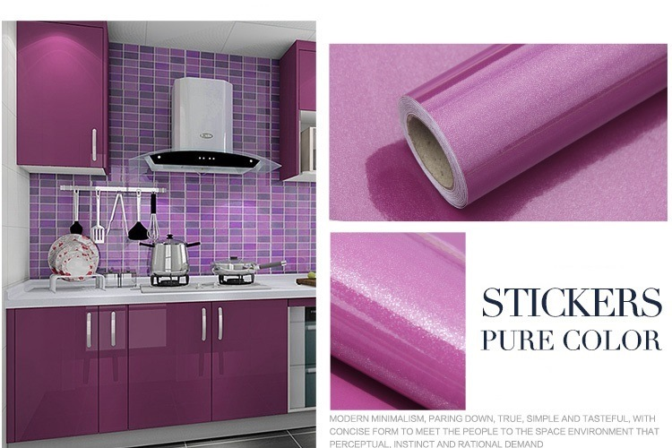 High Glossy With Pearl Purple Self Adhesive Vinyl Contact Paper For Cabinets Covering Wallpaper For Kitchen Cabinet Shelf Liner Adhesive Contact Paper For Count China Glitter Wall Paper Wallpaper Made In China Com