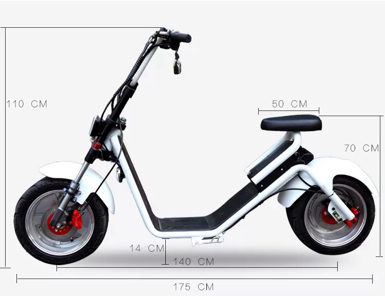 deux roues 18 pouces 1000w harley fat citycoco pneus scooter lectrique les scooters. Black Bedroom Furniture Sets. Home Design Ideas