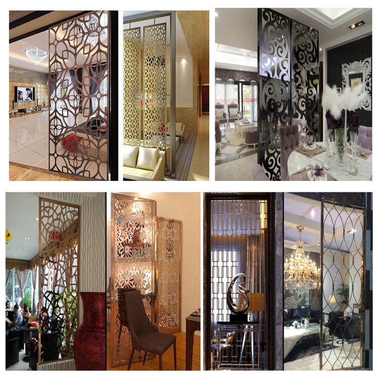 Modern Decorative Partition Screen Dubai Room Divider China Modern