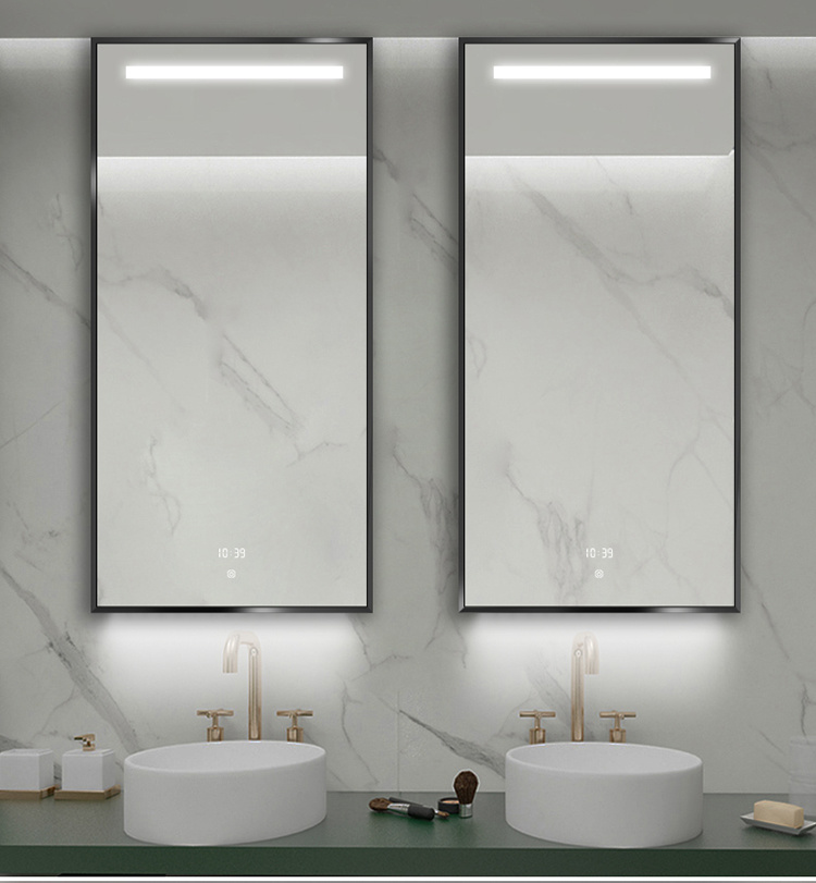 Led Bathroom Makeup Full Mirror, Do You Have To A Special Mirror For Bathroom